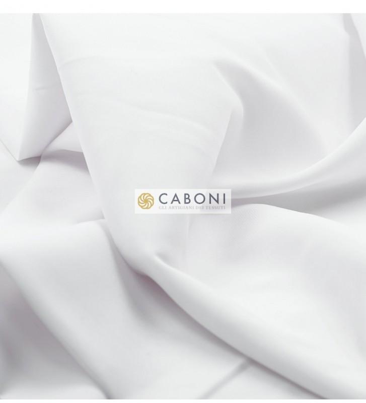 Satin Stretch Gardenia bianco