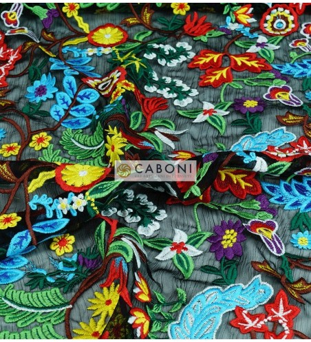 Macrame Ricamo Multicolor 178697