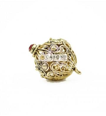 Bottone 21744 Oro Antico