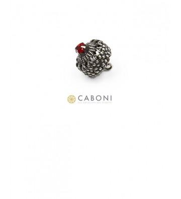 Bottone 21664 Argento