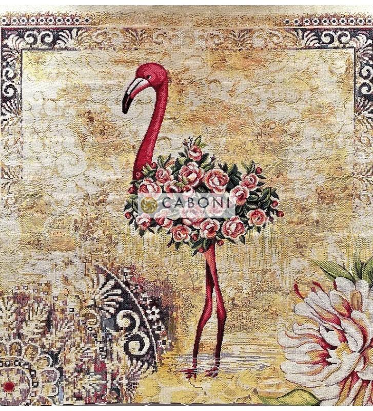 Tessuto Gobelin - Cuscino 45x45 Flamingo