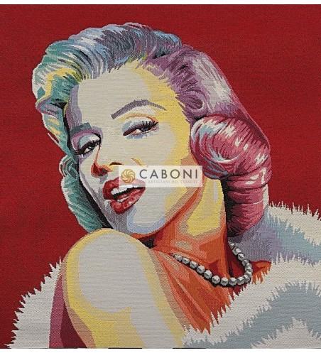 Tessuto Gobelin - Riquadro 45x45 Marilyn