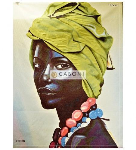 Tessuto Gobelin Riquadri Femminili Asmara