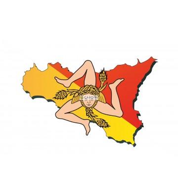 Bandiera Sicilia 100x140