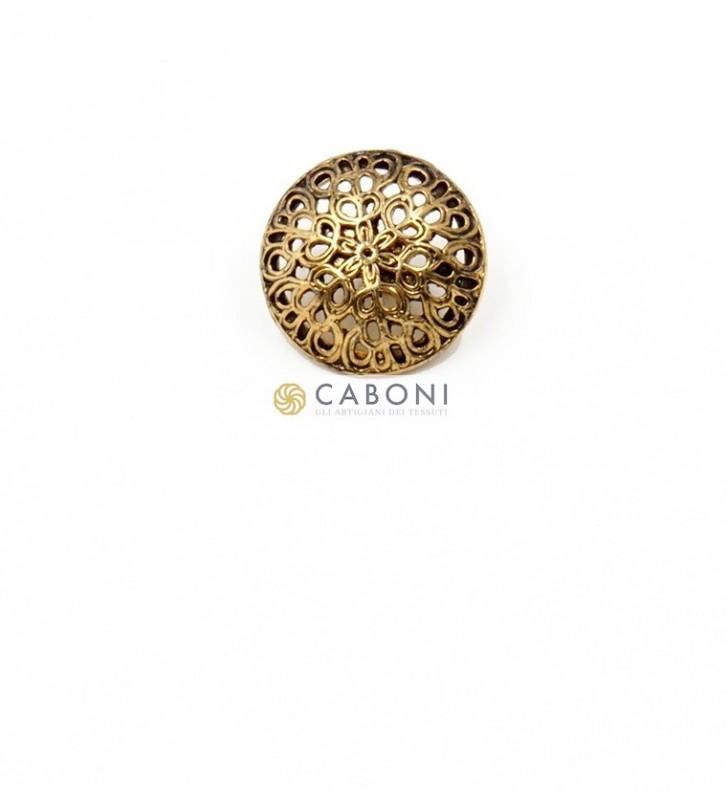 Bottone 2732 Oro antico