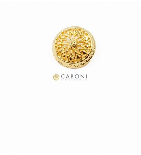 Bottone Sole Oro