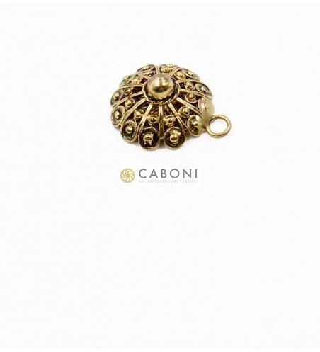 Bottone 21381 Oro Antico