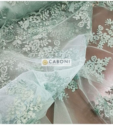 Pizzo Flor Verde tenue