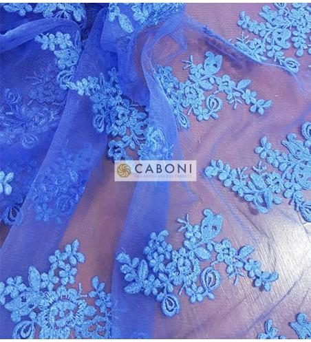 Pizzo Flor Blu Vivo