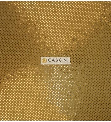 Tessuto con paillettes American Knit Sequin ORO