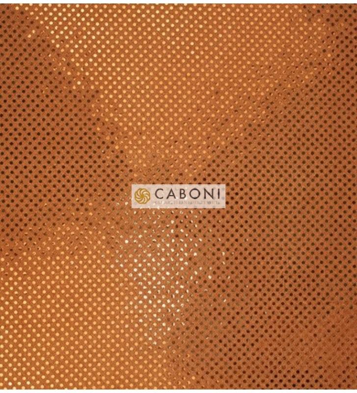 Tessuto con paillettes American Knit Sequin ARANCIO
