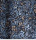 Tulle floccato glitter col.turchese