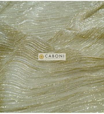 Maglia lamè Plissetata 37480 col. Oro