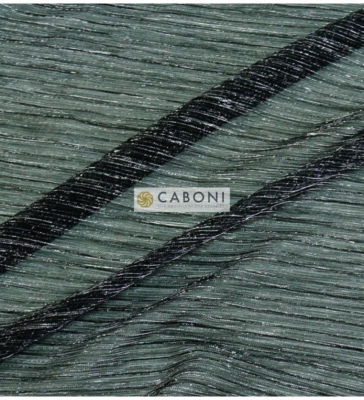 Maglia lamè Plissetata 37480 col. Grigio/Argento
