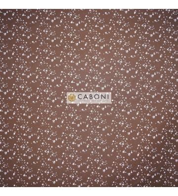 Tessuto Cotone Indianina mattone