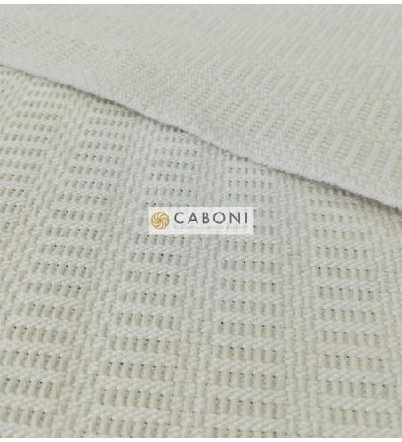 Bisaccia Cotone pesante - Col. Bianco /Avorio