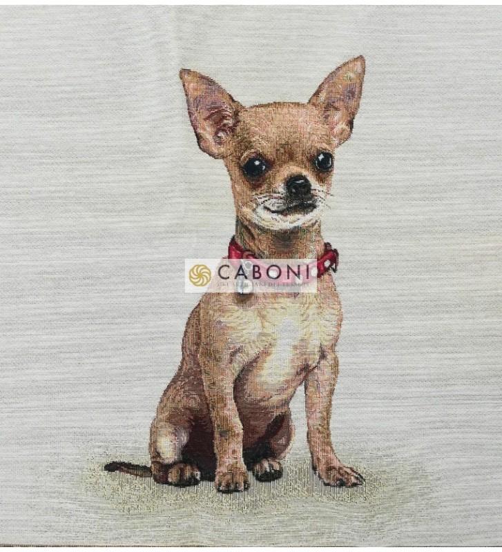 Tessuto Gobelin - Riquadro 45x45 Little dog