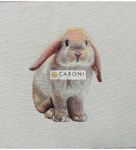 Tessuto Gobelin - Riquadro 45x45 Rabbit