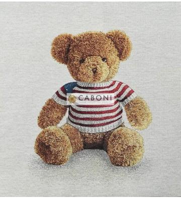 Tessuto Gobelin - Riquadro 45x45 Teddy bear