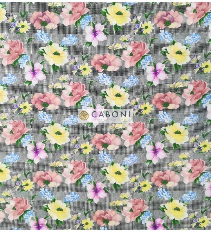 "Tessuto Satin di Viscosa ""Gardenia"""