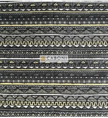 Tess.100% Cotone Maya - Noir
