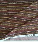 Tess.100% Cotone Maya - Rouge