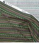 Tess.100% Cotone Maya - Noir Multicolor