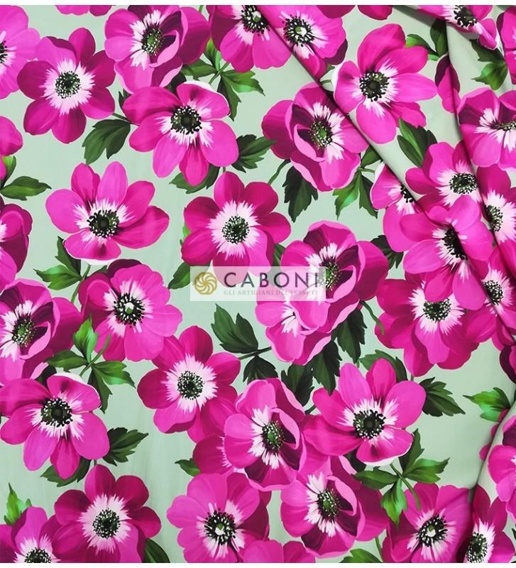Tessuto Misto Seta Flores 0455