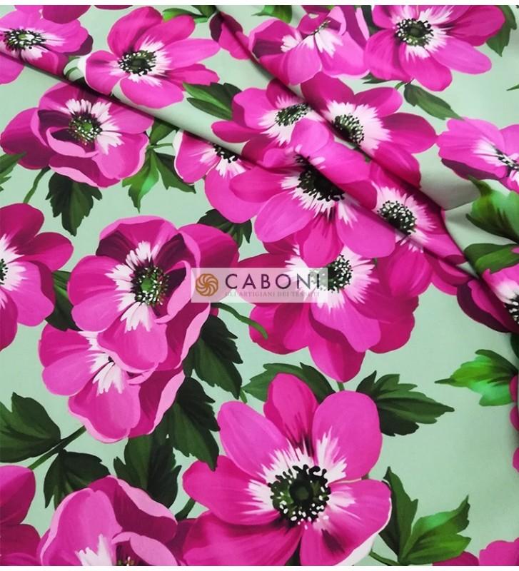 Tessuto Misto Seta Flores 0455 foto dettaglio