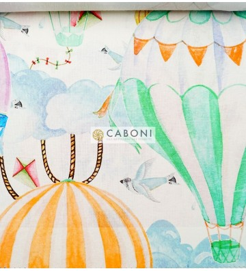 Tessuto Canvas Stampa digitale Bimba Var.011