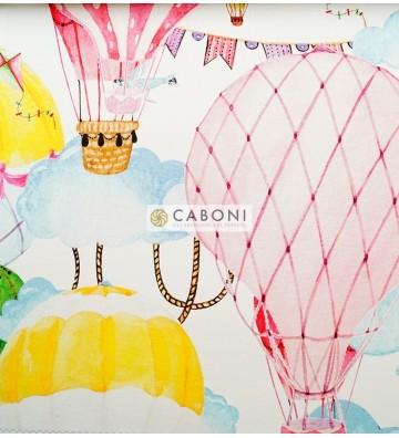 Tessuto Canvas Stampa digitale Bimba Var.13