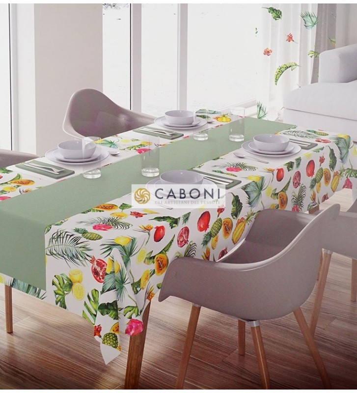 Tessuto Canvas Stampa digitale Cucina var.28 foto camera