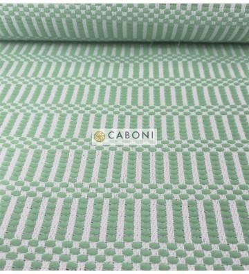 Bisaccia Cotone pesante - Verde acqua
