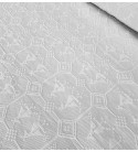 Tessuto Matelassè Pavoncella bianco