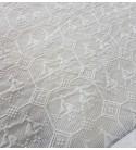 Tessuto Matelassè Pavoncella grigio 3