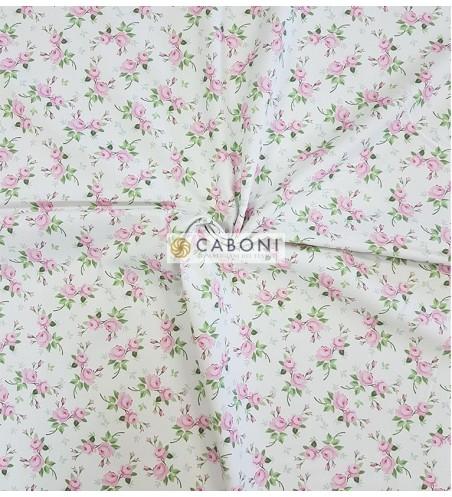 Piquet 100% Cotone Bimbo - Flowers 1