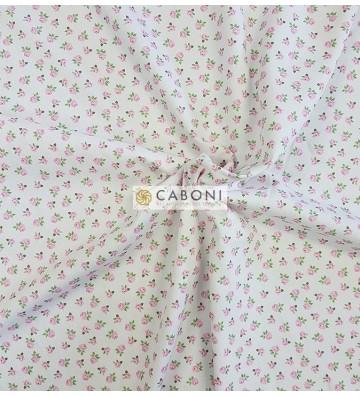 Piquet 100% Cotone Bimbo - Flowers 2
