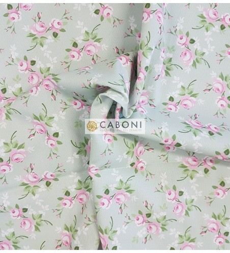 Piquet 100% Cotone - Flowers 3