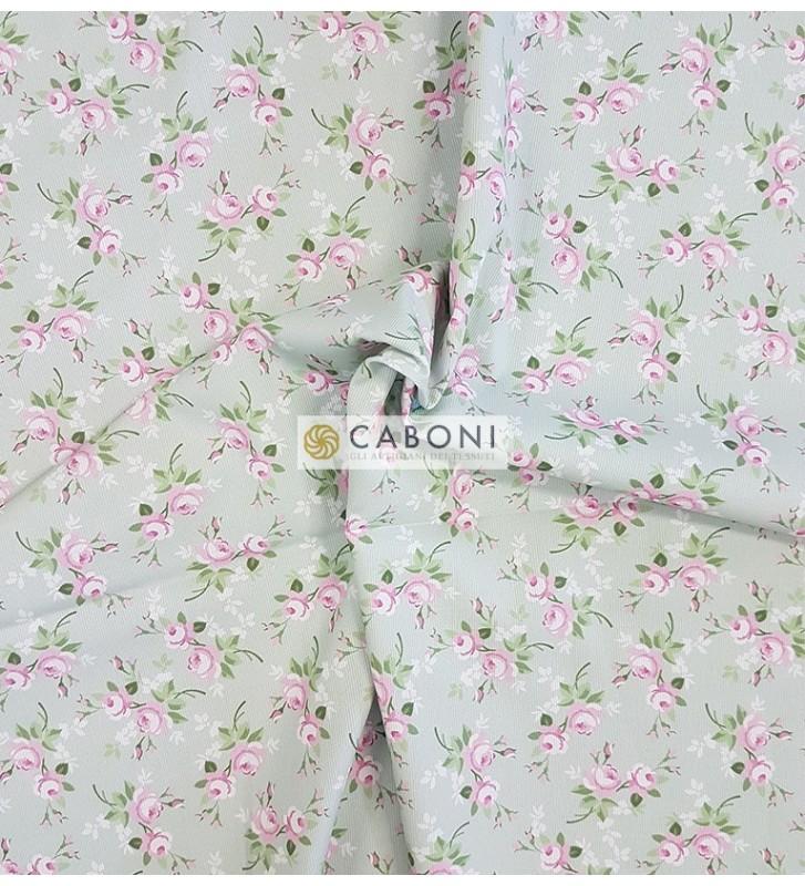 Piquet 100% Cotone Bimbo - Flowers 3