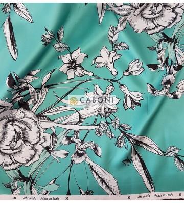 Tessuto Mikado Stampa Digitale Tiffany