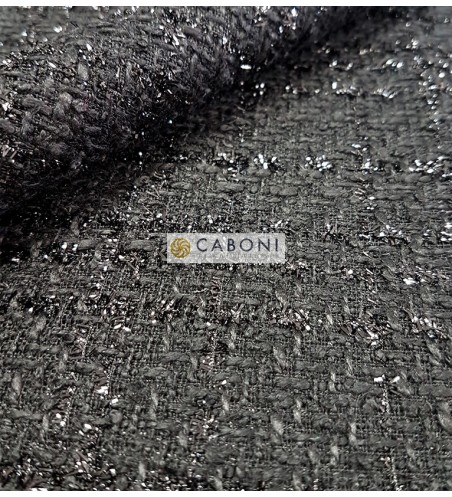 Tessuto Trama Chanel 78088 Nero