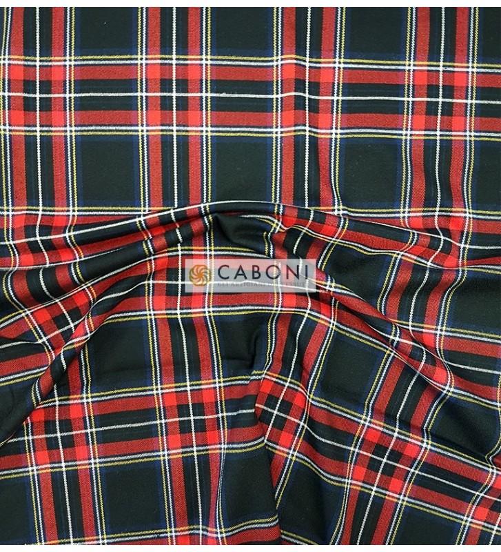 Tessuto Tecnico Stretch Twist 800 Black&Red foto3