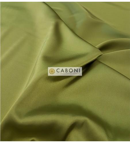 Satin Stretch Gardenia verde oliva