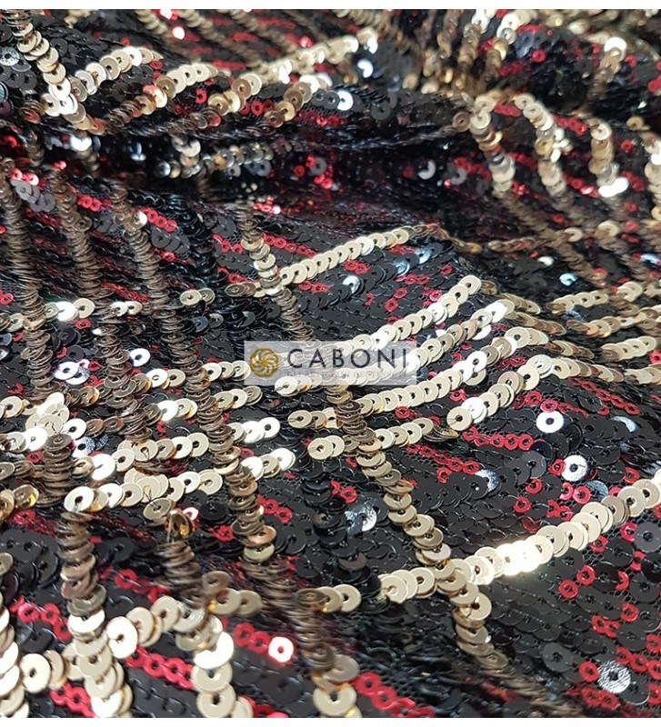 Tessuto Paillettes 89117 foto dettaglio