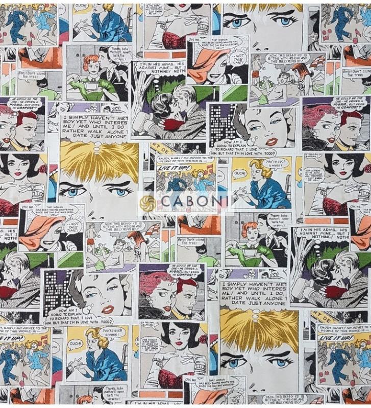 Tessuto Gobelin H280  comics