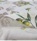 Tessuto cotone resinato H140 - Olive