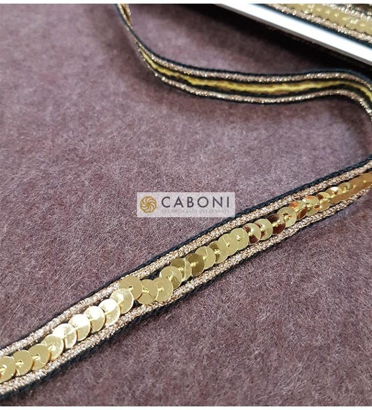 Passamaneria Fashion Paillettes - Oro