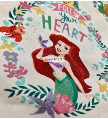 Tela cotone Disney principesse