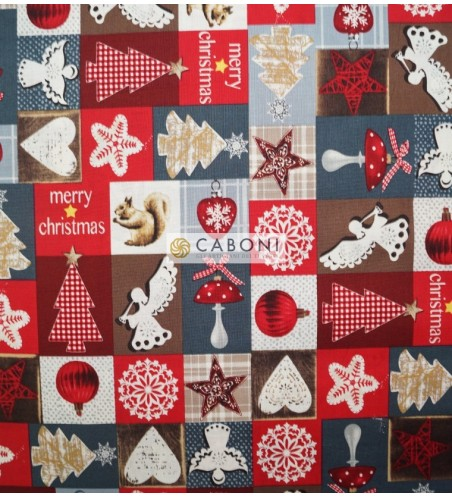 Tessuto Christmas Collection Patch Renna