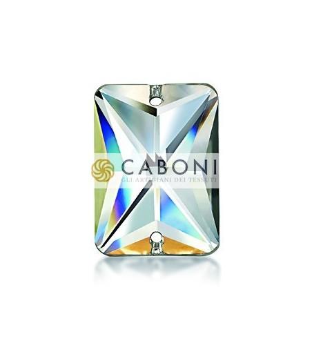 Pietra 606 Rettangolo Crystal Aurora Boreale